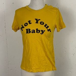 PacSun 'Not Your Baby' Graphic Tee